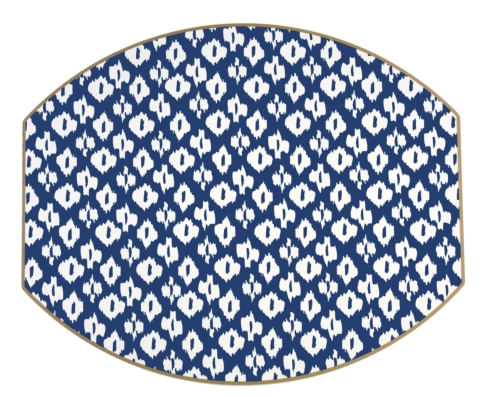 $36.95 Ellipse Placemats (Navy)