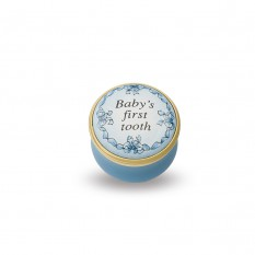 $110.00 Baby\'s First Tooth Blue Box