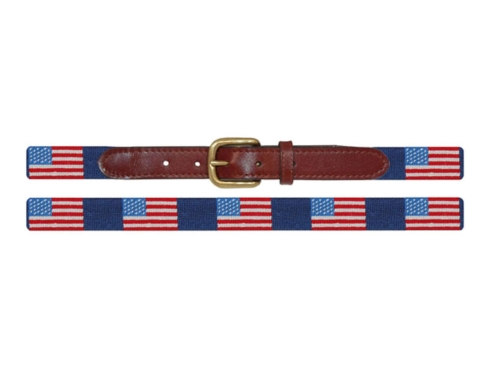 Child's American Flag Belt collection with 2 products