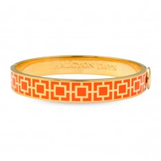 Mosaic Bangle Orange/Gold collection with 1 products