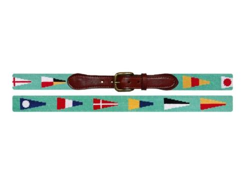 $165.00 Nautical Pennants Belt