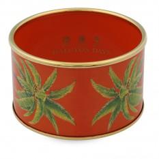 $595.00 Palm, Orange Cuff