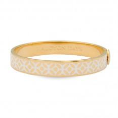 $185.00 Rose Bangle Cream/Gold