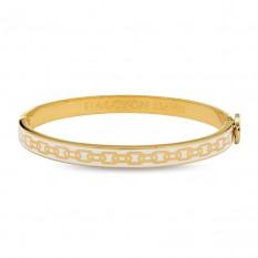 $150.00 Skinny Chain Cream & Gold