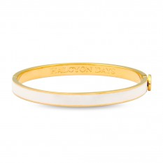 $145.00 Skinny Plain Cream/Gold