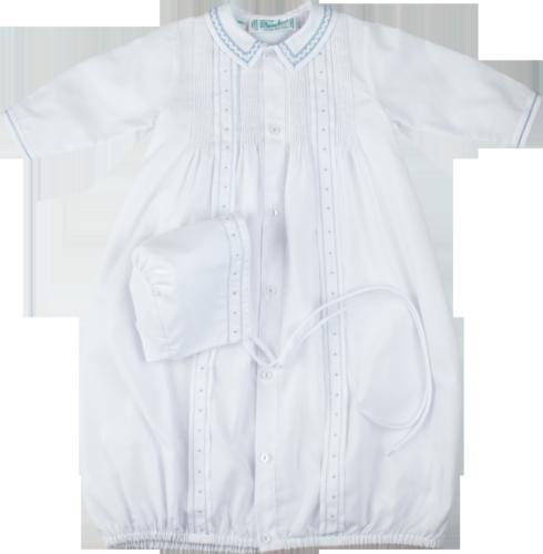 $67.95 Take Me Home Gown White & Blue