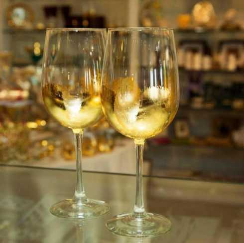 ELM Designs   Gold Leaf White Wine $22.00