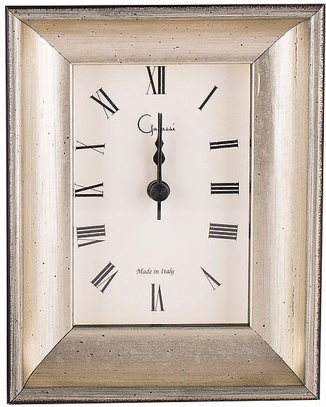 $75.00 Silver Curve 4x4 Clock