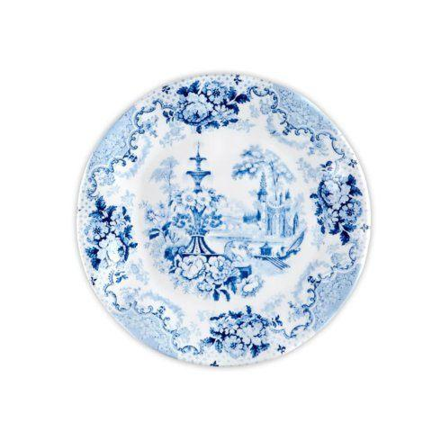 Cambridge Rose In Cobalt Blue Melamine collection