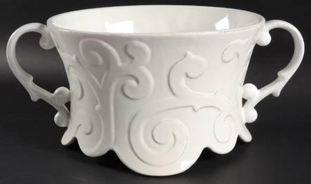 H. Hal Garner Exclusives  Casafina Arabesque White Centerpiece $209.00