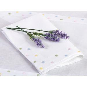 "Pastel Dot 20"" Napkins Each"