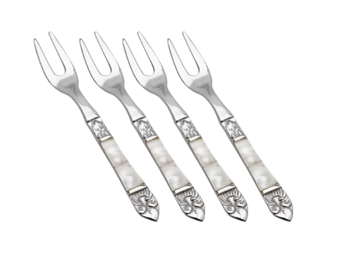 Mother of Pearl Cocktail Forks Set of 4