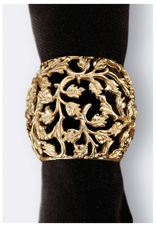 L'Objet  Table Accents Lorel Napkin Ring $50.00