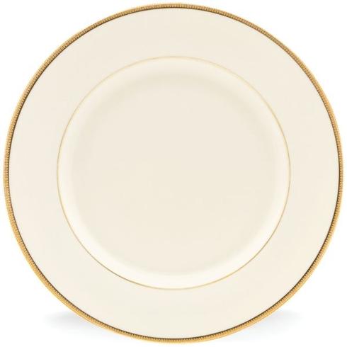 "$99.95 Tuexdo Gold Dinner Plate 10.75"""