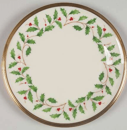 $16.95 Holiday Bread/Butter 6.5""