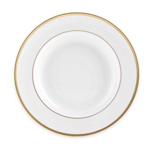 H. Hal Garner Exclusives  Pickard Signature Gold White Rim Soup Bowl $69.00