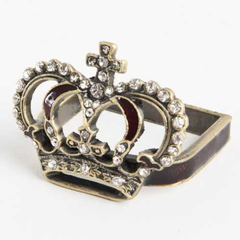 Saro Designs   Crown Napkin Ring $10.00