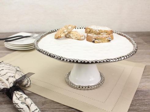 Pampa Bay   Round Cake Stand 11 x 11 x 5 in $75.00