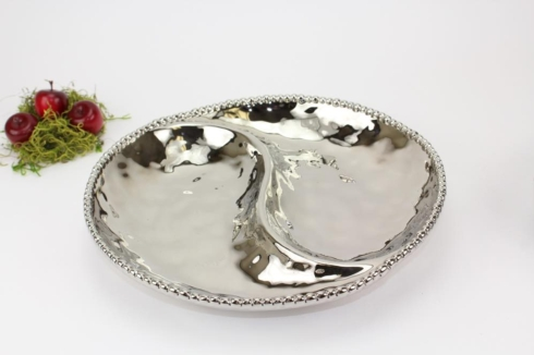 Pampa Bay    2 Section Platter 13 x 13 x 2 in $50.00