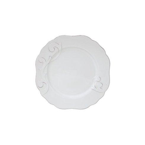 H. Hal Garner Exclusives  Casafina Arabesque White Dinner Plate $38.00