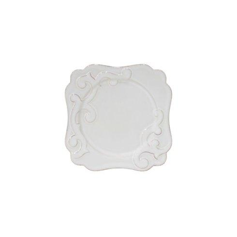 H. Hal Garner Exclusives  Casafina Arabesque White Square Salad Plate $32.00