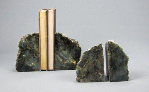 $122.50 Labradorite Polished Bookends