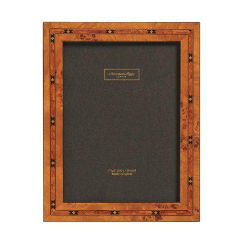 Brown Star 2cm Marquetry Frame