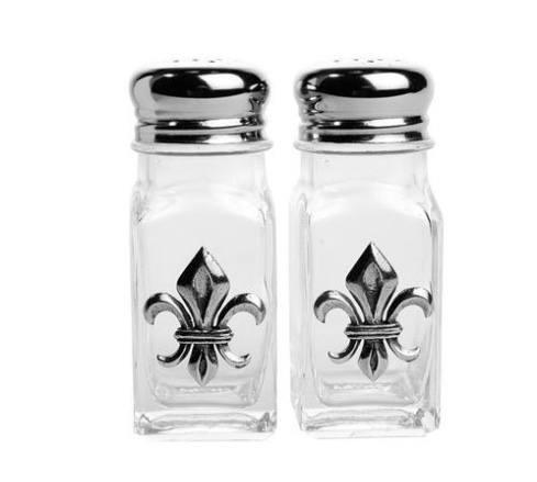 H. Hal Garner Exclusives  Salisbury Fleur de Lis Salt & Pepper $39.50
