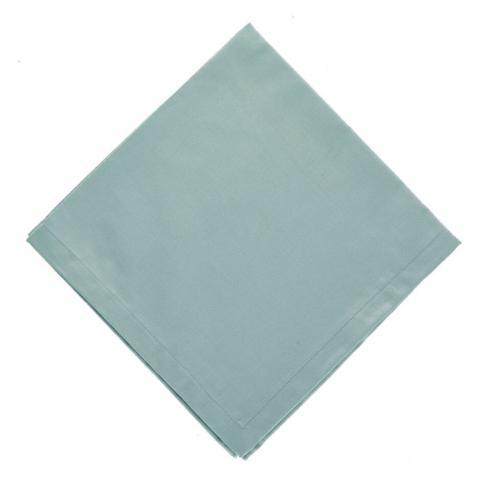 Hollyhocks Exclusives   Linho Napkins ~ Set of 4 ~ Ice Blue $56.00