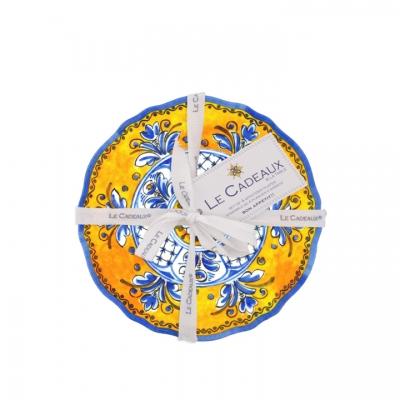 $34.95 Benidorm Appetizer Plates ~ Set of 4