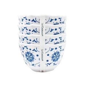 $34.95 Moraccon Blue Set of 4 Dessert bowls