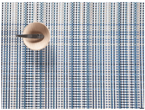 $16.95 Tablemat ~ Blue Grid