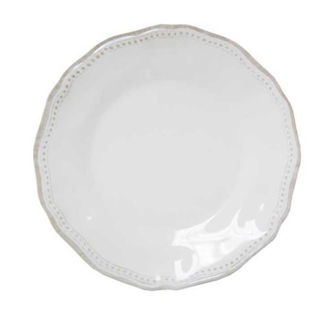 Le Cadeaux   Provence Salad Plate ~ White $14.95