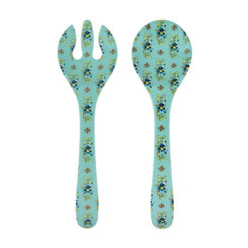Le Cadeaux   Madrid Tuquoise Serving Set $11.95