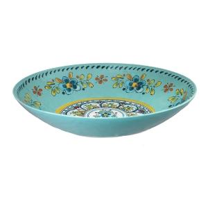 $28.95 Madrid Turquoise Oval Bowl