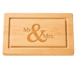 """$69.95 Personalized 13"""" Rectangle Cutting Board *"""