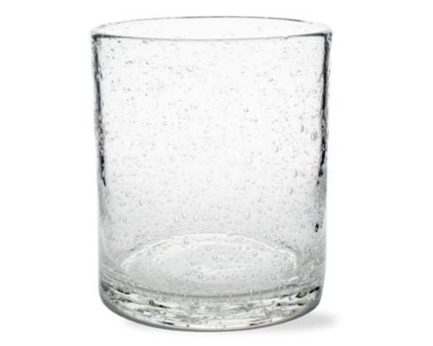 $8.95 Bubble Glass Small Tumbler ~ Clear