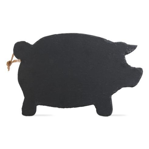 $19.95 Pig Slate Cheese Board