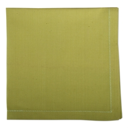 $18.95 Napkins ~ Set of 4 ~ Green Hemstitch