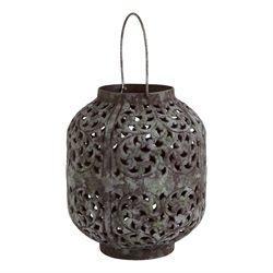 Tag   Patina Small Lantern ~ Henna $50.95