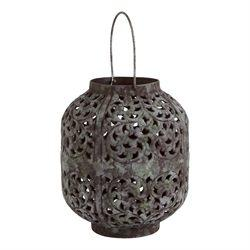 $50.95 Patina Small Lantern ~ Henna