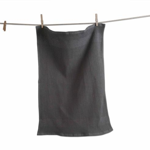 $21.95 Kitchen Towel ~ Waffle Weave ~ Set of 2 ~ Gray