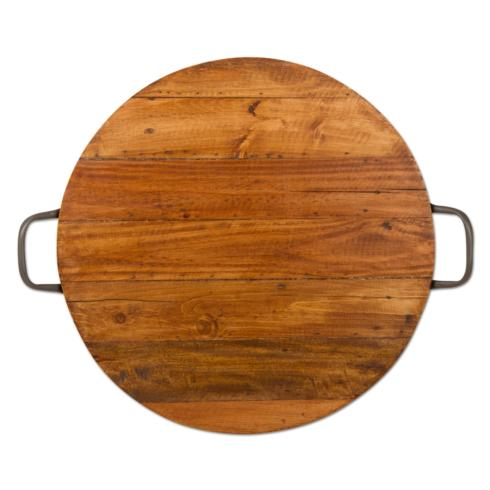 $74.95 Reclaimed Wood Server with Handles