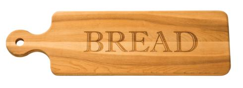 "$58.95 Personalized 20"" Wooden Bread Board"