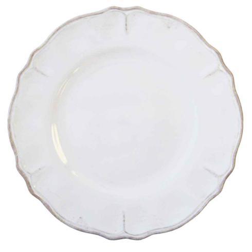 Le Cadeaux   Rustica Antique White Dinner Plate $18.95