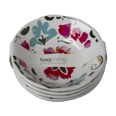 tag   Eden Melamine Cereal Bowl ~ Set of 4 $33.95
