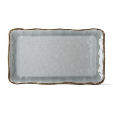 $38.95 Veranda Melamine Platter ~ Slate Blue
