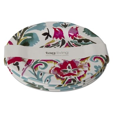 tag   Eden Melamine Salad Plate ~ Set of 4 $40.95