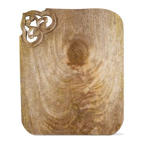 $39.95 Plume Wooden Serving Board ~ Natural