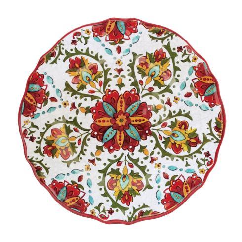 $18.95 Allegra Red Dinner Plate
